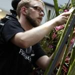 Jürgen Herold, deutscher Meister der Floristen 2012