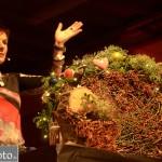 Annette Kamping bei Adventdemo 2013 im BZG