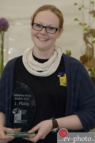Eva Latsch, Siegerin Silberne Rose Hessen 2014