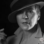 Ulrike noir rauchend