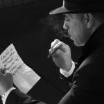 Gerd-Film noir-Aufhellung mit weichem Licht
