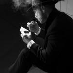Gerd-Film noir-Aufhellung durch weiches Licht